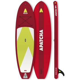 Indiana SUP Apatcha 10'6 Fire Ilmatäytteinen SUP, red